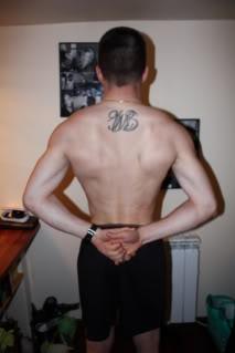 Raphaël, 40 cm de bras pour 1m75