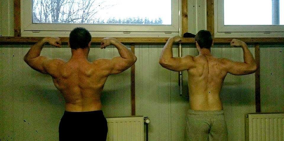 Deux puissants athlètes 100% Lafay