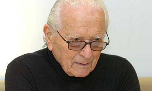 Ernst von Glasersfeld Photo: Michaela Bruckberger