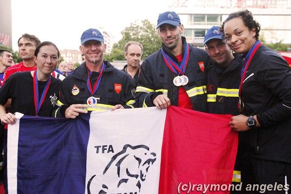 Vincent, 5° – sur 302 participants – au FCC (Firefighter Combat Challenge)