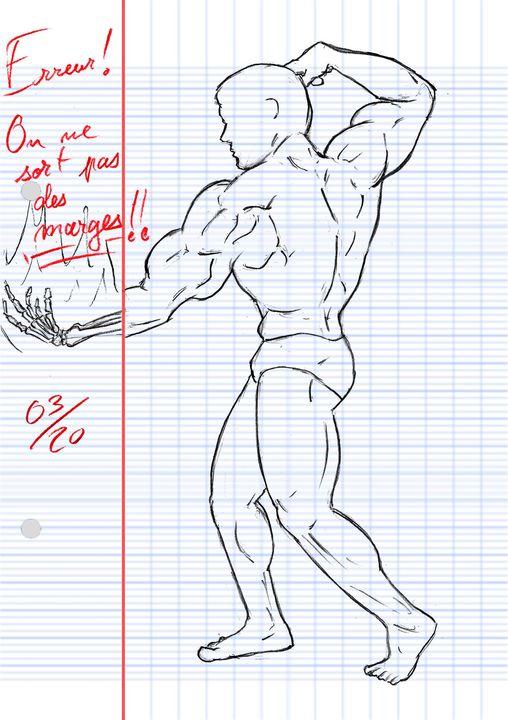 LE PROPRE DE L'HOMME MUSCLÉ